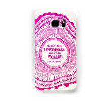 My List – Pink Ombré Ink Samsung Galaxy Case/Skin