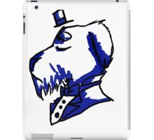 dapper schnauzer iPad Case/Skin