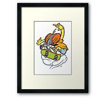 Fly Bart Framed Print