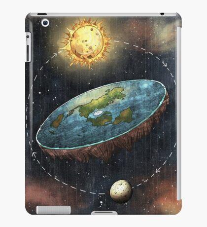 Flat Earth Sun & Moon iPad Case/Skin