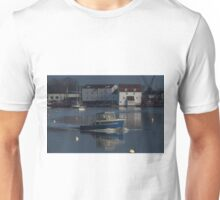 The Blue Boat and Tide Mill Unisex T-Shirt