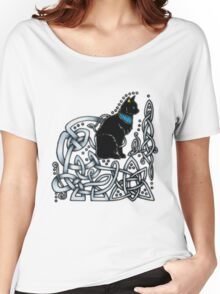 Celtic/Egyptian Cat Women's Relaxed Fit T-Shirt