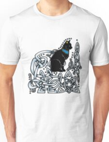 Celtic/Egyptian Cat Unisex T-Shirt