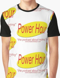 Seinfeld's Power Hour Graphic T-Shirt