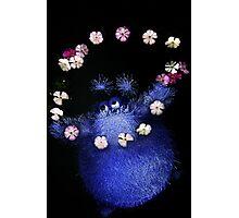 happy flower monster Photographic Print