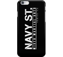 Navy Gym MMA iPhone Case/Skin