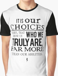 Albus Dumbledore Quote - Harry Potter Graphic T-Shirt