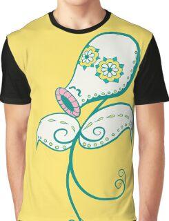 Bellsprout Pokemuerto | Pokemon & Day of The Dead Mashup Graphic T-Shirt