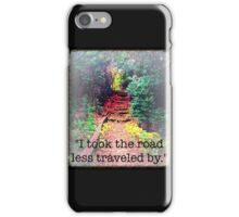 Hidden Road iPhone Case/Skin