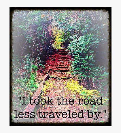 Hidden Road Photographic Print