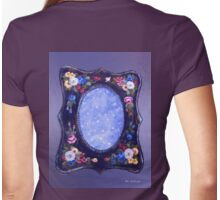 Celestial Mirror Womens Fitted T-Shirt