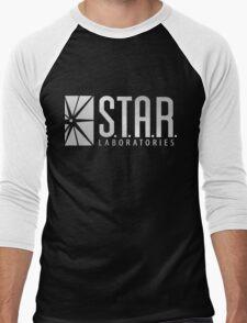 Star Labs Silver Men's Baseball ¾ T-Shirt