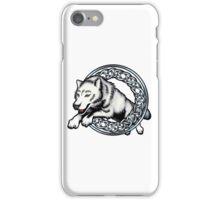 Celtic Wolf iPhone Case/Skin