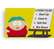 Cartman Bro Down Canvas Print