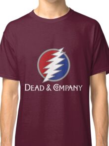 Dead And Company Metal rock Grate Classic T-Shirt