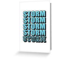 Surrey Storm Greeting Card