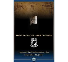 Defense Department POW/MIA Recognition Day 2016 Poster Photographic Print