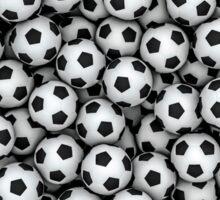 Soccer balls Sticker