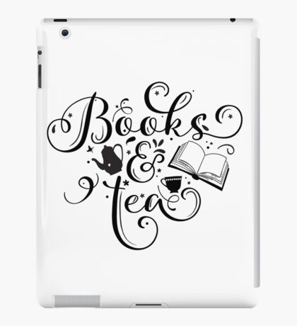 Books & Tea iPad Case/Skin