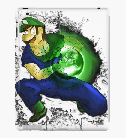 Kamehame-Luigi iPad Case/Skin