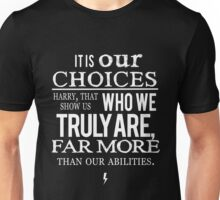 Albus Dumbledore Quote white - Harry Potter Unisex T-Shirt