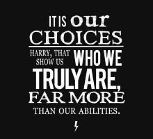 Albus Dumbledore Quote white - Harry Potter Unisex T-Shirt