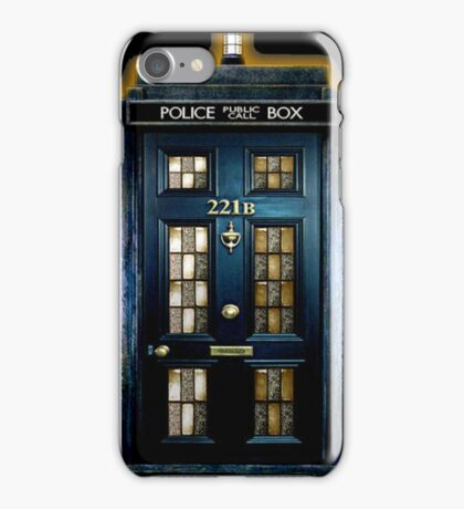 Police Box Doctor Who iPhone Case/Skin