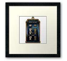 Police Box Doctor Who Framed Print