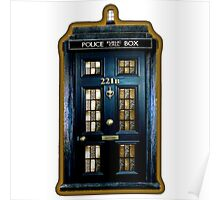 Police Box Doctor Who Poster