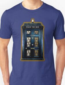 Police Box Doctor Who Unisex T-Shirt