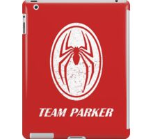 Team parker iPad Case/Skin
