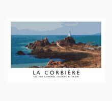 La Corbière (Railway Poster) Kids Tee