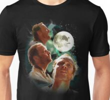 Three Jear-Bear Moon Unisex T-Shirt