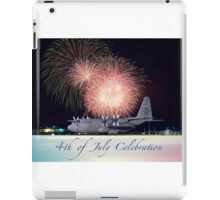 USAF Independence Day Poster iPad Case/Skin