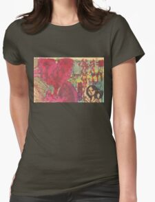 girl in chinatown Womens Fitted T-Shirt