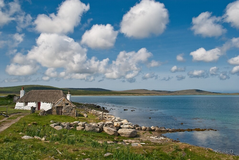 North Uist: Stonehouse by Kasia-D