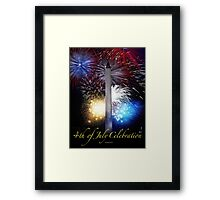 Fourth of July in D. C. Framed Print