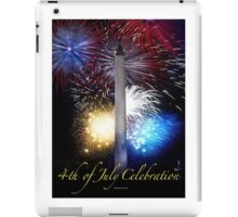 Fourth of July in D. C. iPad Case/Skin
