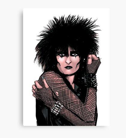 Siouxsie Sioux 2 Canvas Print