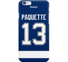 Tampa Bay Lightning Cedric Paquette Jersey Back Phone Case iPhone Case/Skin