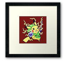 Pokemon Zelda Framed Print