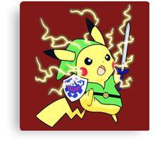 Pokemon Zelda Canvas Print