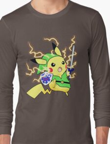 Pokemon Zelda Long Sleeve T-Shirt