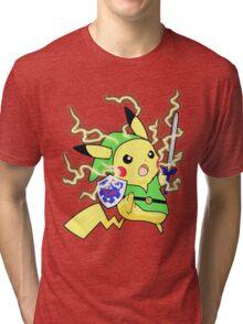 Pokemon Zelda Tri-blend T-Shirt
