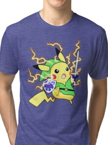 Pokemon Zelda Tri-blend T-Shirt