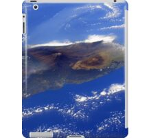 Island of Hawaii From the International Space Station iPad Case/Skin