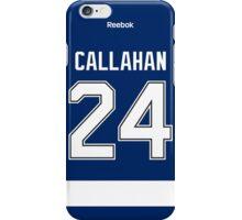 Tampa Bay Lightning Ryan Callahan Jersey Back Phone Case iPhone Case/Skin