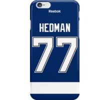 Tampa Bay Lightning Victor Hedman Jersey Back Phone Case iPhone Case/Skin