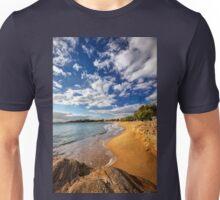 Sandy beach of Logaras in Paros island Unisex T-Shirt