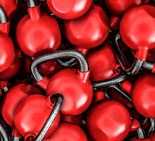 Kettlebells RED Sticker